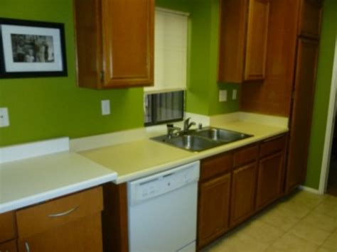 lime green kitchen paint modern beautiful green wall kitchens my home design journey 7099