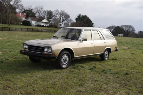 Peugeot 504 Wagon by 1982 Peugeot 504 Diesel Wagon 43k For Sale Photos
