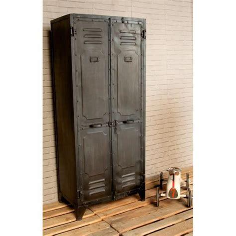 vestiaire d entree pas cher vestiaire industriel noir achat vente meuble d entr 233 e vestiaire industriel noir cdiscount