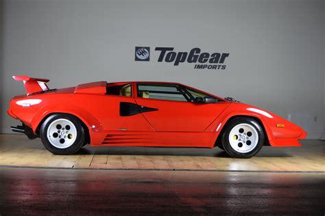 1988, Lamborghini, Countach, 5000, S, Supercar Wallpapers ...