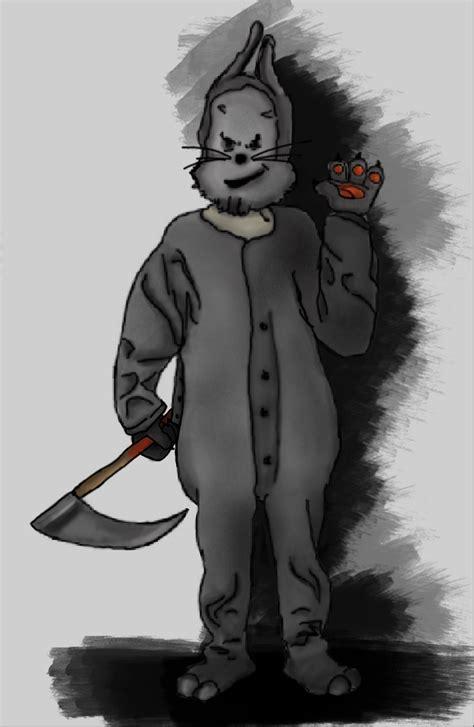 bunny man killer  realityisagame  deviantart