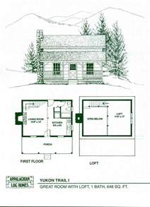 small log cabin home plans log home package kits log cabin kits yukon trail i model