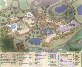 Shades of Green Walt Disney World Resort Map