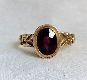antique victorian garnet and gold engagement ring 2396824 With antique victorian wedding rings