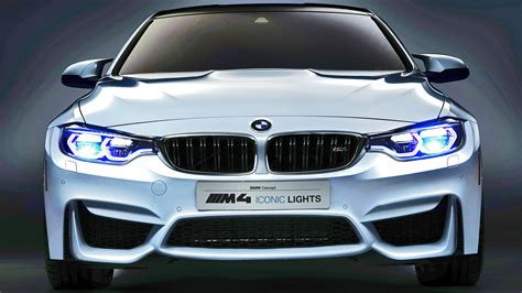 Bmw Lights by Bmw M4 Concept Iconic Lights Laser Oled Technology