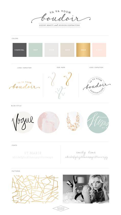 A Modern Beauty Website Design  Va Va Voom Boudoir