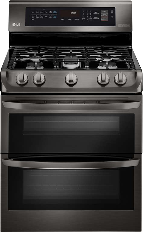 lg ldg4315bd 30 inch oven gas range with probake