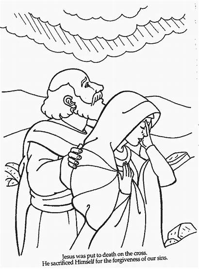 Bible Coloring Pages Jesus Colouring Aaron Printable