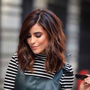 Couleur Cheveux Marron Chocolat : couleur cheveux marron chocolat glace coiffures la ~ Melissatoandfro.com Idées de Décoration