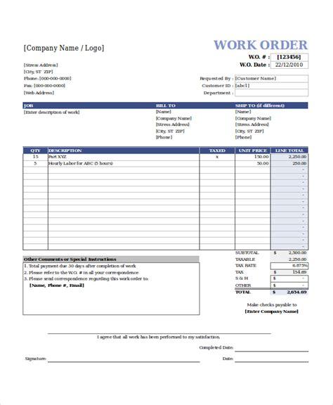 work order templates easyerp open source erp crm