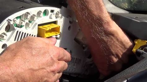 replace  dashboard light youtube