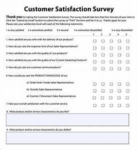 employee satisfaction survey 8 download free documents With employee satisfaction survey template word