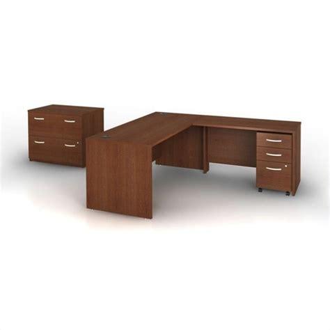 2 piece l shaped desk bush bbf series c 4 piece l shape computer desk in