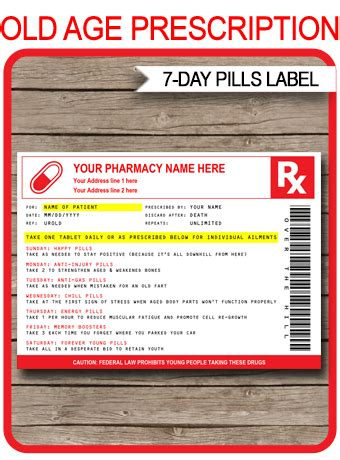 age pills prescription printable template