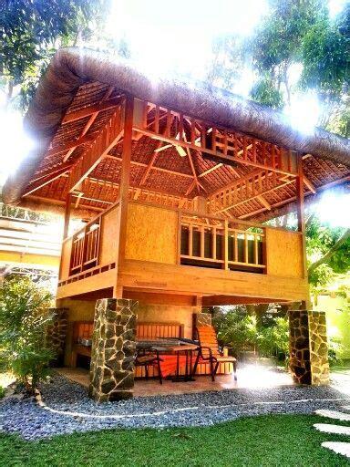 nipa hut rest house hut house philippine houses