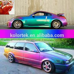 color changing plasti dip creates chameleon car awesome