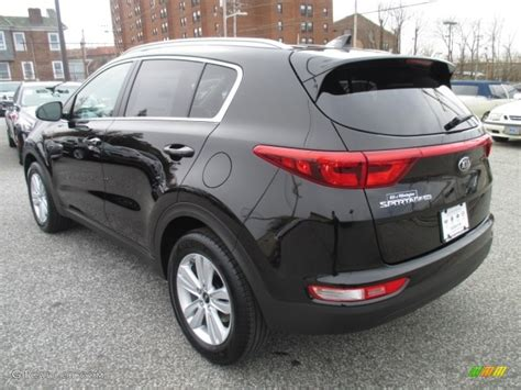 kia sportage black 2017 black cherry kia sportage lx 111328253 photo 5