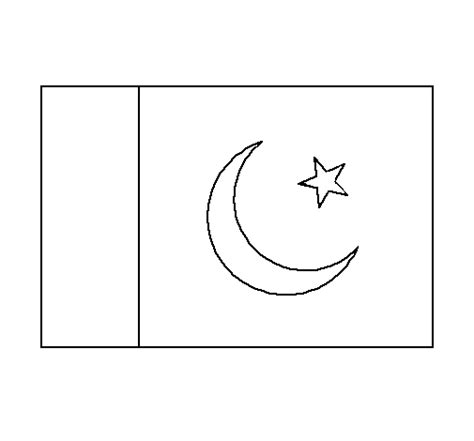 Pin Pakistan Flag Colouring Pages On Pinterest