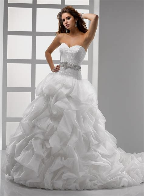 Wedding Dresses Ball Gown Sweetheart Neckline Naf Dresses