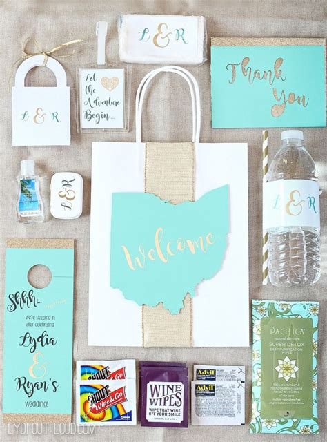 Best 25 Wedding Welcome Bags Ideas On Pinterest Welcome