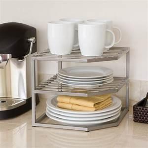 Rebrilliant, Prevatte, Corner, Kitchen, Cabinet, Organizer, Rack