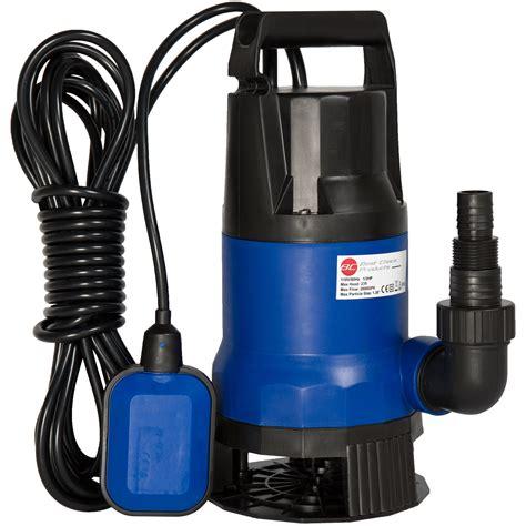 Bcp Submersible Water Pump 12 Hp 2600gph Clean Dirty Pool