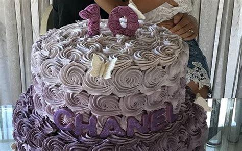 chanel si鑒e social totti e la torta di compleanno della figlia chanel dimensione suono roma