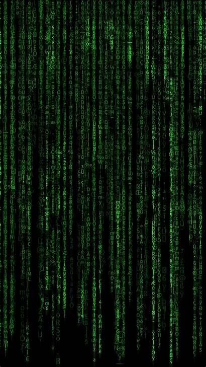 Matrix Code 4k Wallpapers Desktop Falling Typography