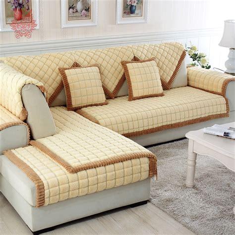 Aliexpresscom  Buy Coffee Beige Plaid Quilting Sofa