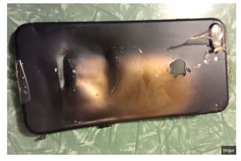 iphone blows up iphone 7 explodes is its battery defective
