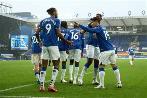 4-3-3 Everton Predicted Lineup Vs Liverpool - The 4th Official