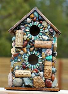 Vogelfutterspender Selber Bauen : mosaik basteln stein mosaik im garten ~ Whattoseeinmadrid.com Haus und Dekorationen