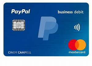 Paypal business debit mastercard earn 1 cash back for Paypal business debit card fees