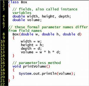 Session, 4, Lecture, Notes, For, First, Course, In, Java