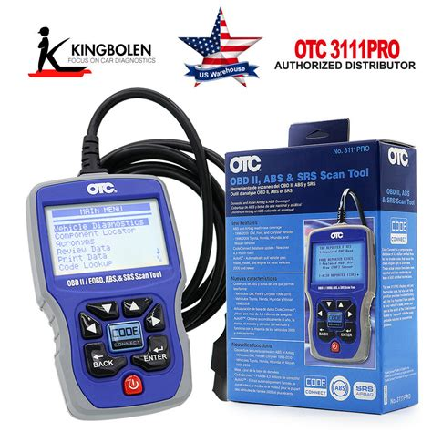 Scanning Tool by Otc 3111pro Obd2 Ii Scan Tool Scanner Can Abs Airbag Srs