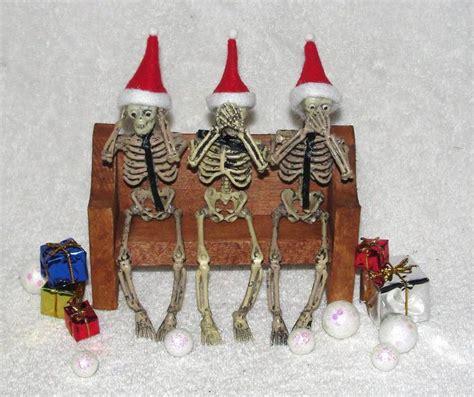 skull christmas decorations