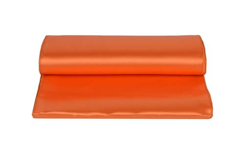 chemin de table orange chemin de table satin orange harmonie florale