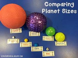 Comparing Planet Sizes Activity | Teaching Ideas ...