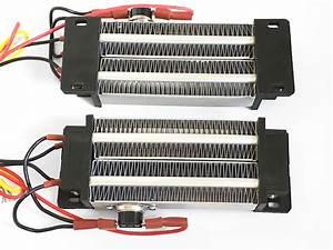500w 220v Ptc Ceramic Air Heater Insulated Incubator