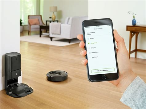 irobot roomba  robot vacuum learns  homes floor