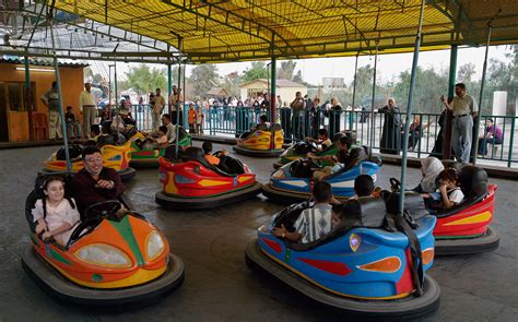 Bumper Cars Amusement Park Ride