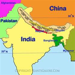 Similiar Himalayas Map Asia Keywords