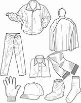 Colouring Pages Clothing Coloring Winter Clothes Printable Dresses Sheet Sheets Pdf Intheplayroom Printables Shirts Warm Coat sketch template