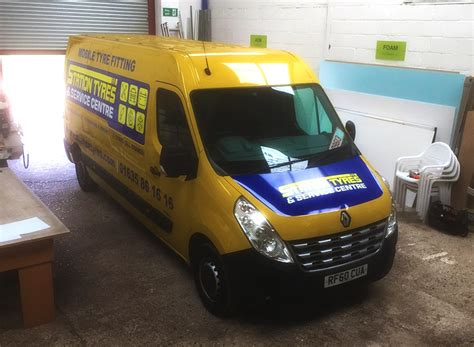 Station Tyres Vehicle Graphics