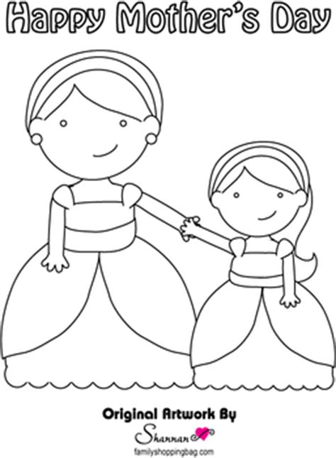 mom coloring page mothers day coloring pages  printable ideas  family shoppingbagcom