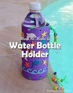 kid craft make your own water bottle holder running With how to make your own water bottle