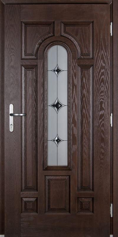 Lauko durys su stiklu