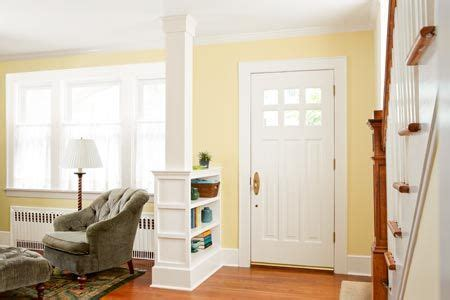 Foyer And Living Room Divider Ideas by How To Build A Columned Room Divider Entry Ways Front