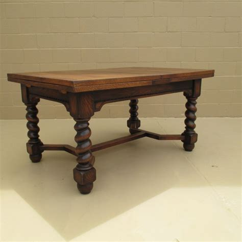 dining table antique barley twist dining table