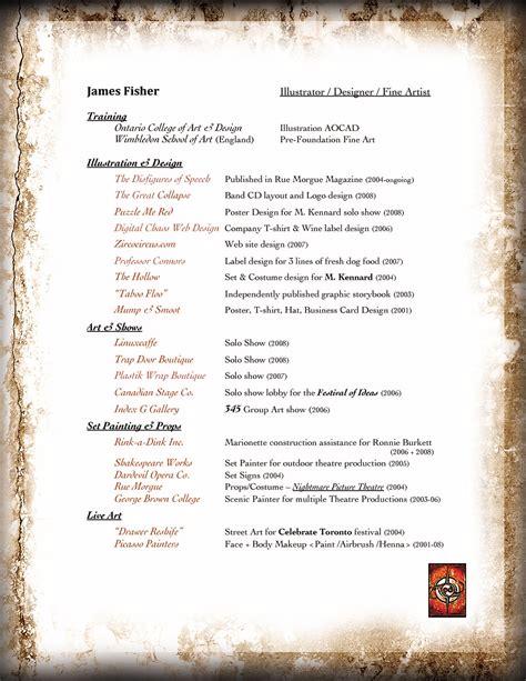 zirco circus resume of fisher